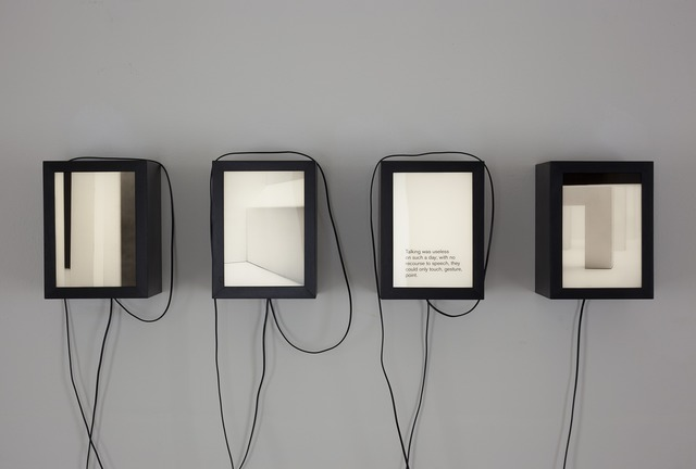 , 'Evident In Advance (detail),' 2013, Ani Molnár Gallery