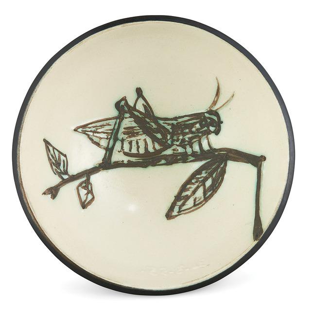 Pablo Picasso, 'Grasshopper Sur Une Branche (A.R. 258)', 1955, Doyle