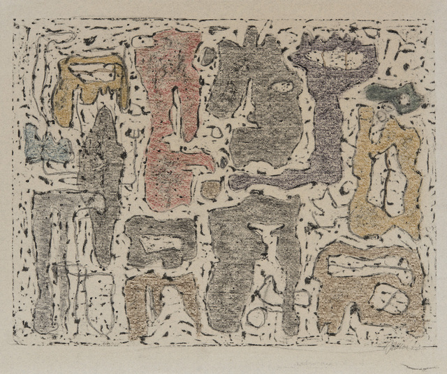 , 'Afrikanische Erzählung,' 1942, Galerie Klaus Gerrit Friese