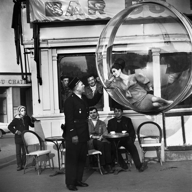 Melvin Sokolsky, 'Bar Du Flick', 1963, Holden Luntz Gallery