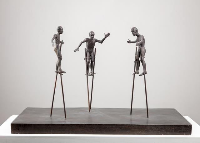 , 'Stilt Walkers,' 1991, Marlborough London
