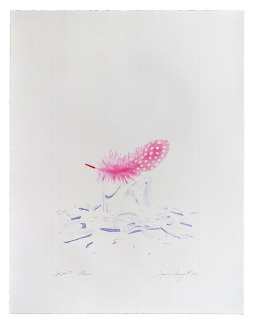 James Rosenquist, 'Plume', 1982, Print, 3 color aquatint/etching, Gemini G.E.L.