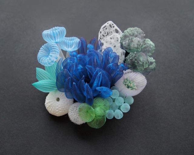 , 'Seascape brooch,' 2020, Micheko Galerie