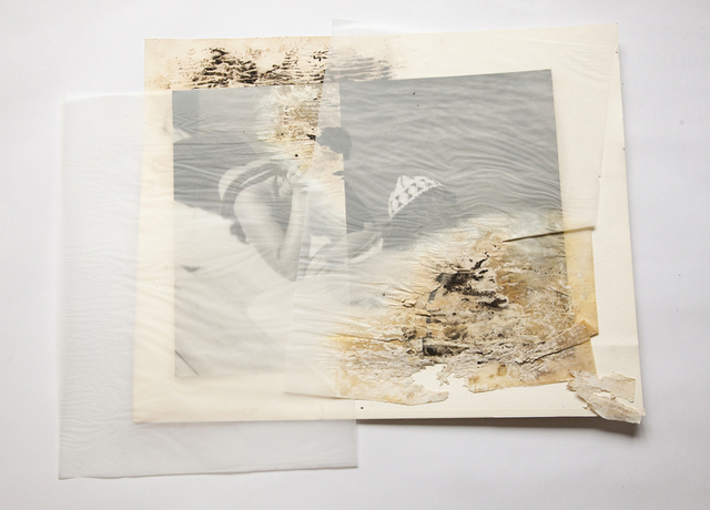 , 'Eau, rêves et confidences, after Gaston et Raymond Bachelard, Série Sauvées des Eaux,' 2014, Galerie Christophe Gaillard