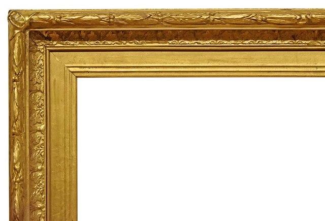 , 'American Hudson River Gold Leaf Frame, circa 1875 (23.5x27.5),' ca. 1875, Susquehanna Antique Company