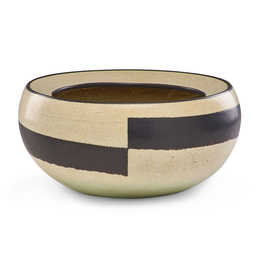 Fine large vessel with wide horizontal stripe, Claremont, CA