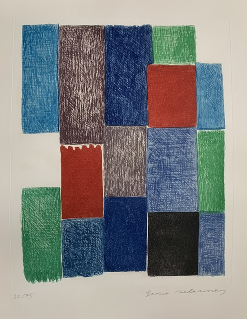 "Sonia Delaunay, 'Plate 10 from ""Avec Moi-Même"" ', 1970, Leonard Fox Ltd"