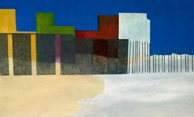 , 'Borders and Walls #1,' 2018, George Lawson Gallery