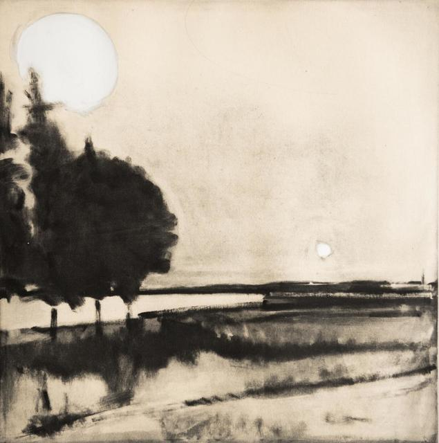 Elizabeth Higgins, 'Sun and Moon monotype', 2018, Prince Street Gallery
