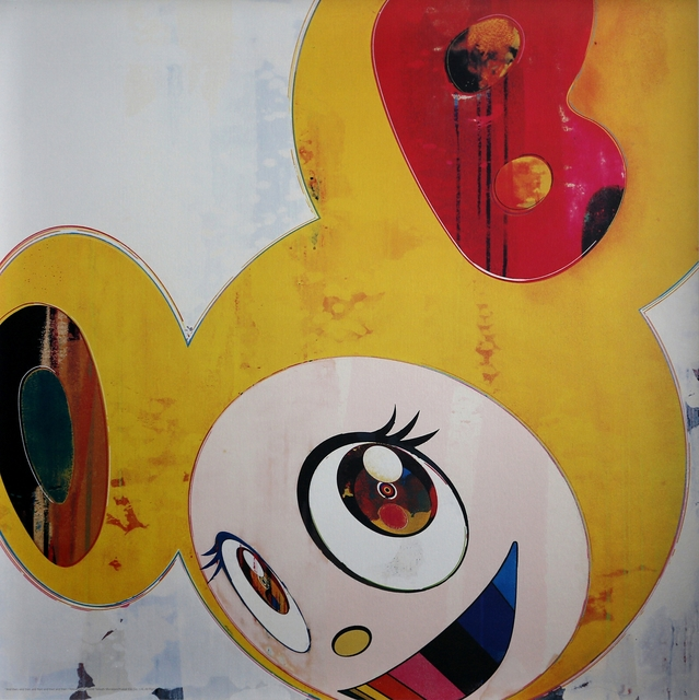 Takashi Murakami, 'And then, and then, and then, and then, and then…..(Yellow Jelly)', 2008, Addicted Art Gallery
