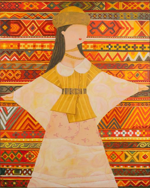 , 'Kazakh ornaments - 4,' 2014, Andakulova Gallery