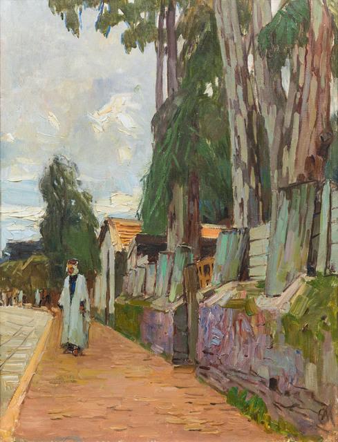 , 'Street in Algier,' 1930, Galerie Kovacek & Zetter