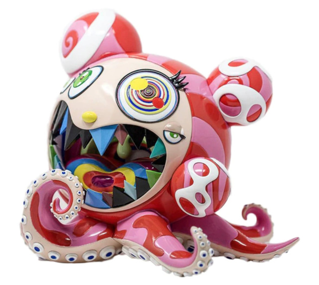 Takashi Murakami, 'Mr. DOBtopus A', 2017, Sculpture, Painted cast vinyl, End to End Gallery