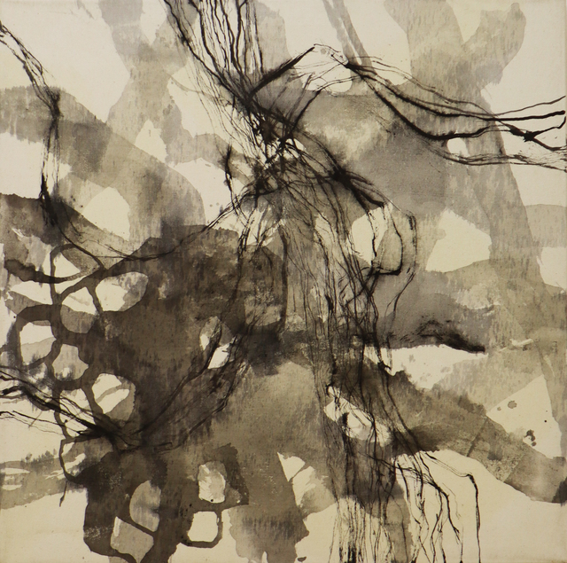 Natacha Di Nucci, 'Untitled IV - Serie 'Traces'', 2020, Painting, Tusche auf Leinwand / ink on canvas, ARTBOX.GALLERY
