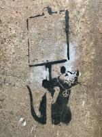 "Banksy, ""Anarchy Rat / Peace Rat"""