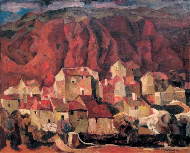, 'Casas,' 1958, GALERÍA HISPÁNICA