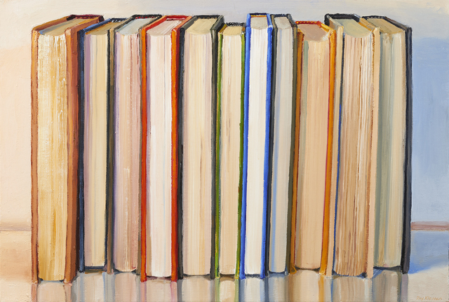 , 'Books,' 2016, Paul Thiebaud Gallery