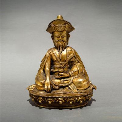 , 'Seated Tibetan Lama with Long-Life Vase,' 1800 BCE-1900, Barakat Gallery