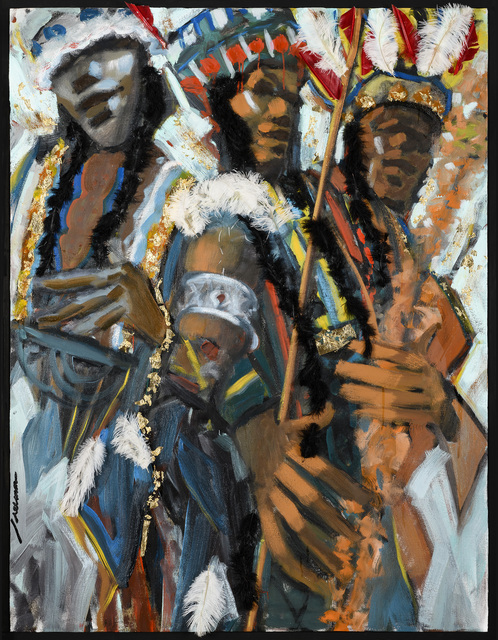 , 'Mardi Gras Indians,' 2017, Adelson Galleries