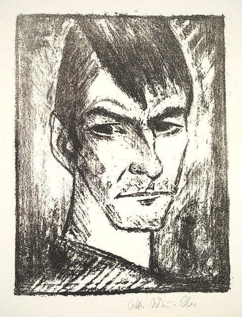 , 'Selbstbildnis nach rechts (2),' 1921-1922, Henze & Ketterer