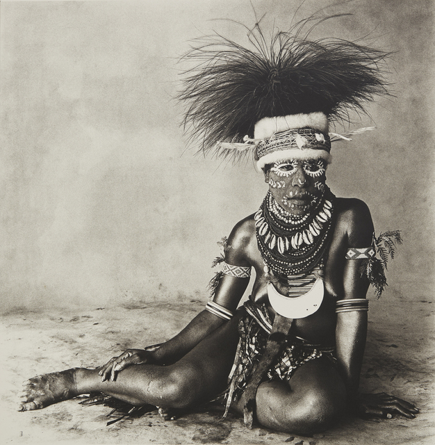 , 'Sitting Enga New Guinea Woman,' 1970, Rick Wester Fine Art