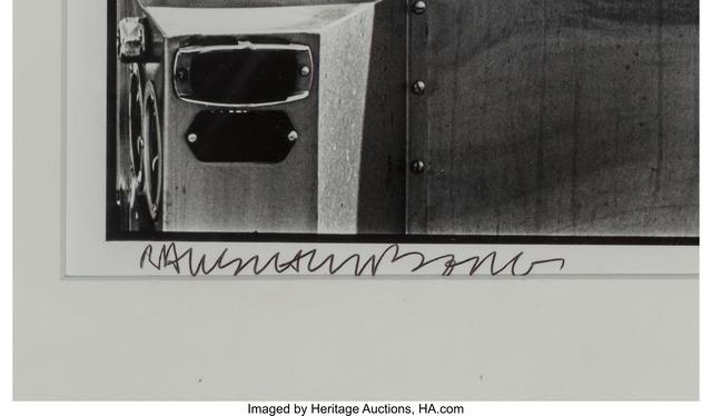 Robert Rauschenberg, 'Fort Myers, Florida', 1979, Print, Gelatin silver print, Heritage Auctions