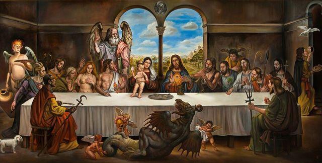 , 'The Last Supper,' 2012, Gregorio Escalante Gallery