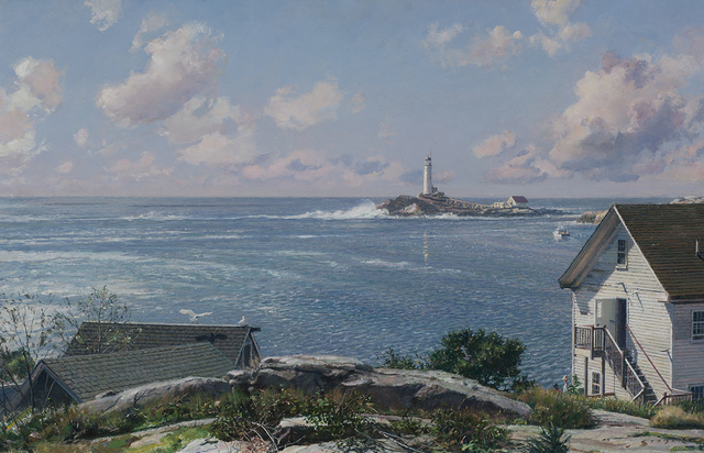 , 'Isles of Shoals, White Island Light,' 2012, Rehs Contemporary Galleries