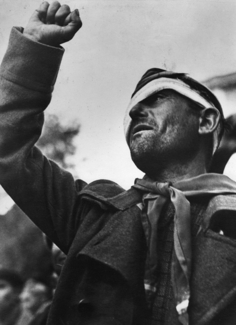 , 'Member Of The International Brigade, Montblanch,' 1938, Atlas Gallery