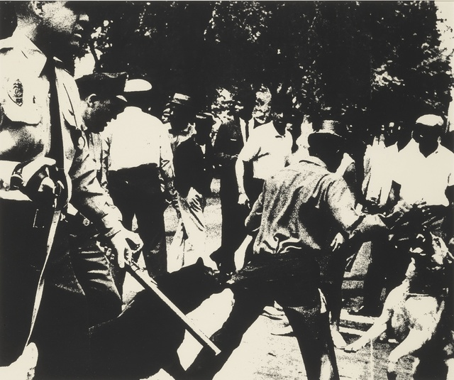 Andy Warhol, 'Birmingham Race Riot (F. & S. II.3)', 1964, Sotheby's