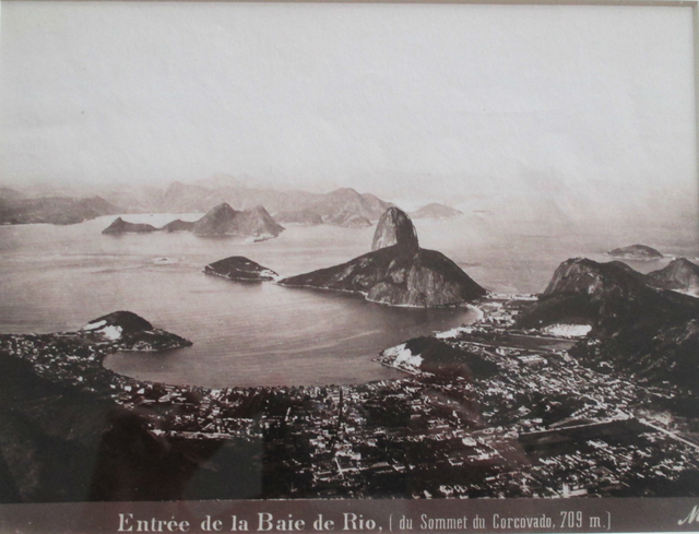 , 'Entrée de la Baie de Rio [du Sommet du Corcovado, Rio de Janeiro,' ca. 1885, Fólio Livraria