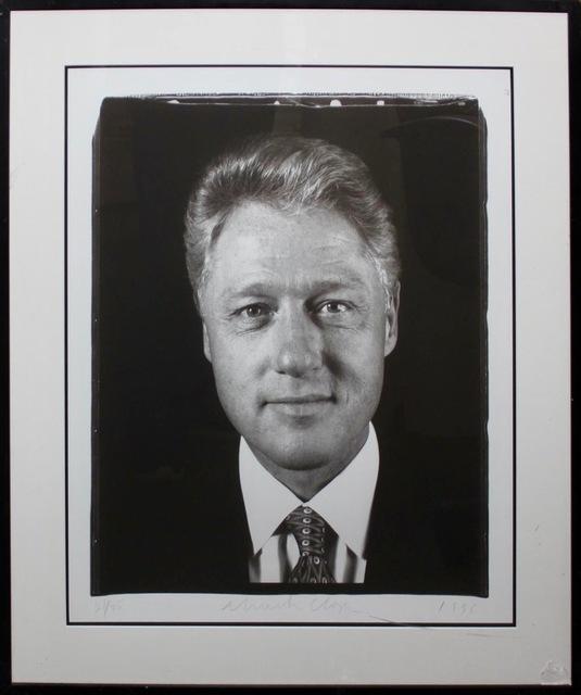 Chuck Close, 'Untitled (President Clinton)', 1996, Kunzt Gallery