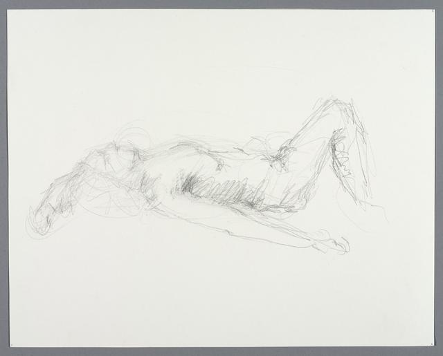 Okim Woo Kim, 'Untitled (Lying pose)', 2016, Brooklyn Museum