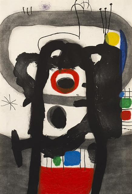 Joan Miró, 'L'Enragé', 1967, Il Ponte