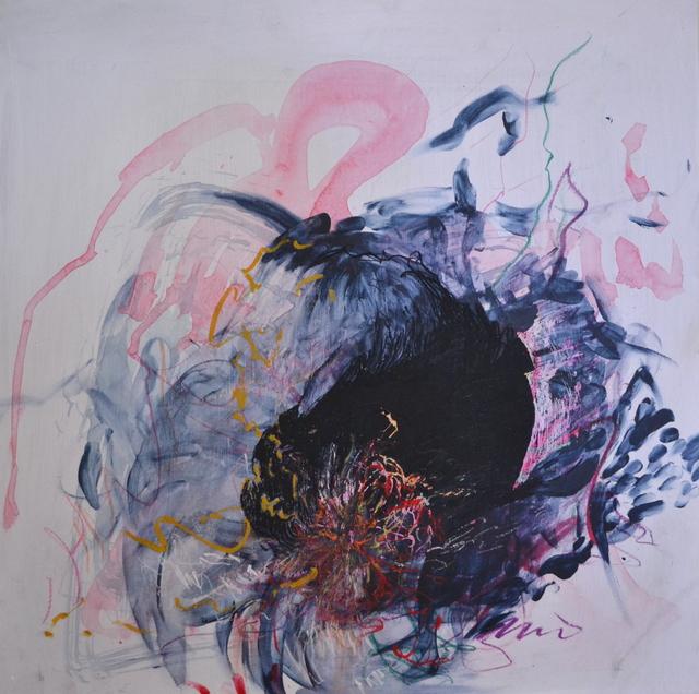 Emma C. Aspeling, 'Heavy', 2019, Painting, Mixed media on board, 99 Loop Gallery