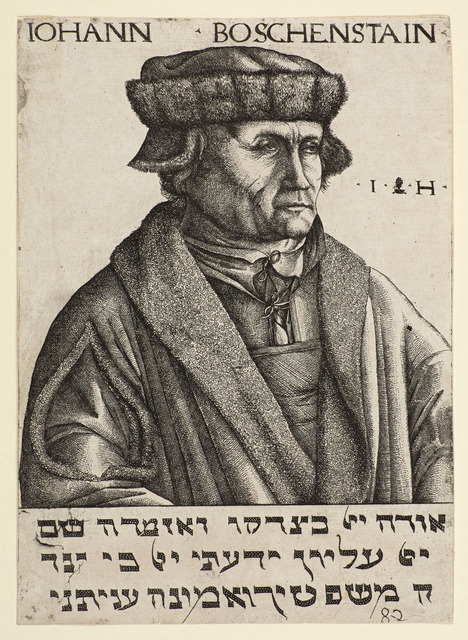 , 'Portrait of Johann Boschenstain,' 1530, Emanuel von Baeyer