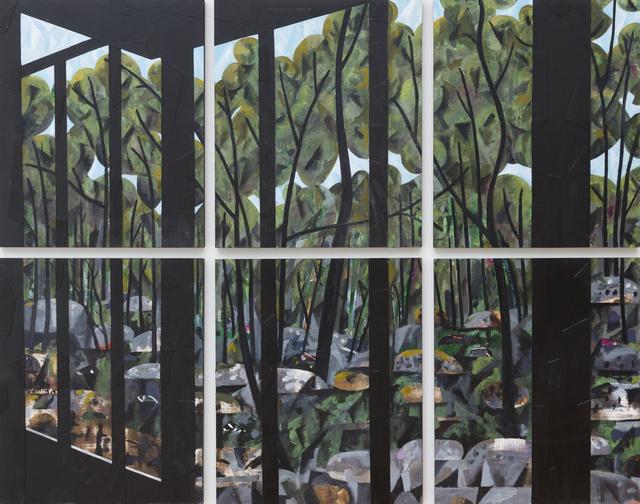 , 'Tokyo Window,' 2017, Oliver Sears Gallery