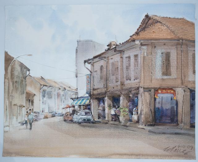 , 'Keong Siak Street,' , Ode to Art