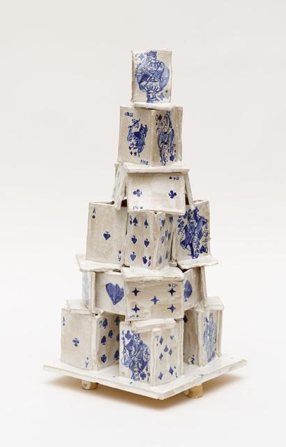 , 'Card House #1 ,' 2016, Diane Rosenstein