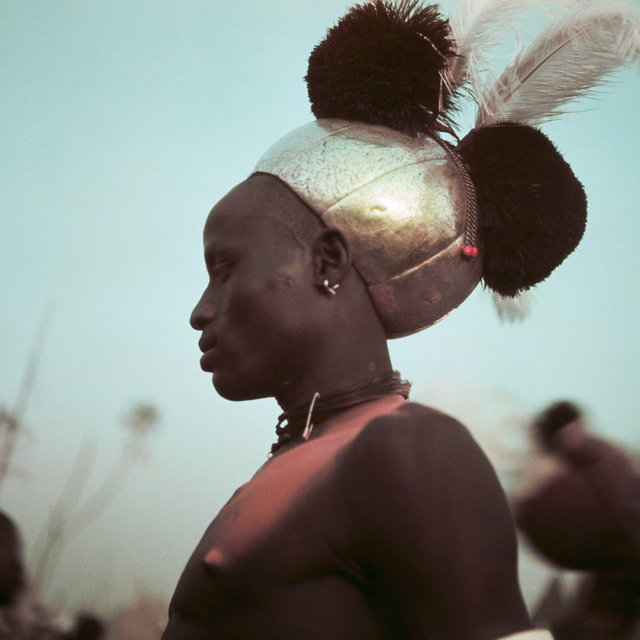 , 'Latuka warrior dressed for ceremony. Kordofan, Southern Sudan,' 1948, David Hill Gallery