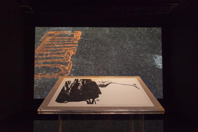 """, 'Installation view, """"Pan Gongkai and Clifford Ross: Alternate View"""" at Zhejiang Art Museum,' , Zhejiang Art Museum"""