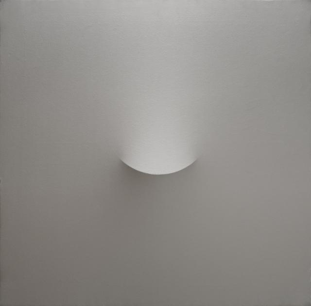 , 'Un ovale argentato,' 2002, The Mayor Gallery