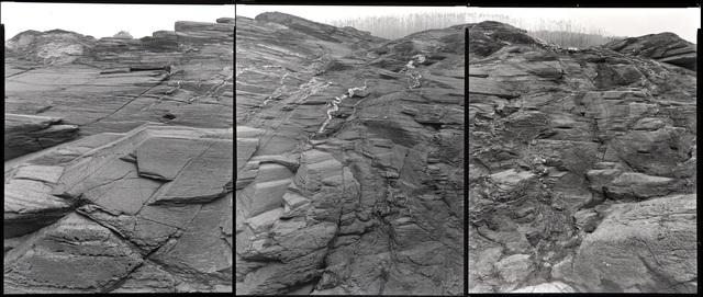 , 'Rocks: Panning / Beavertail Point (52902-4),' 2001-2002, L. Parker Stephenson Photographs