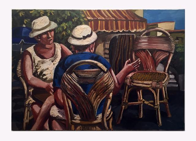 , 'Les Chaises,' 1997, Hal Bromm