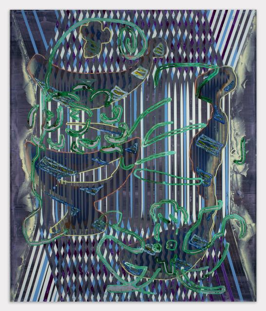 , '117r(poke garden),' 2018, Johannes Vogt Gallery