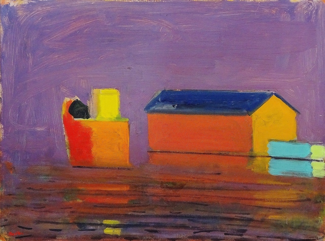 , 'Provincetown Pier, Lavender Day,' 1998, Lawrence Fine Art