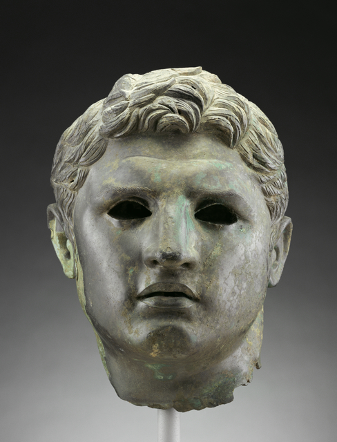 'Portrait of a Man',  1st century B.C., J. Paul Getty Museum