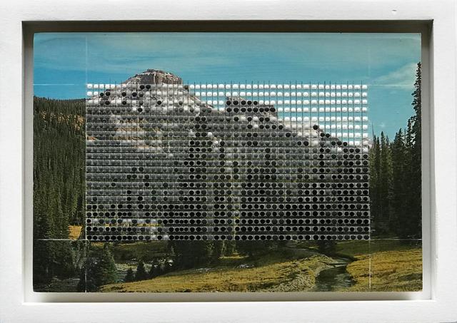 , 'Borrowed Landscapes Study No.144/CO, Precipice Peak,' 2017, k contemporary