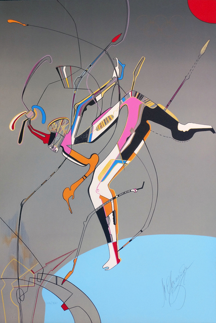 Mihail Chemiakin, 'RUNNER', 1988, Gallery Art