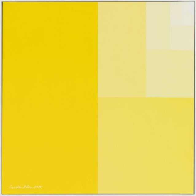 , 'Divisions Square (Senegal-yellow Surface),' 2017, Gagosian